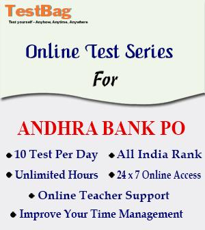 ANDHRA BANK PO