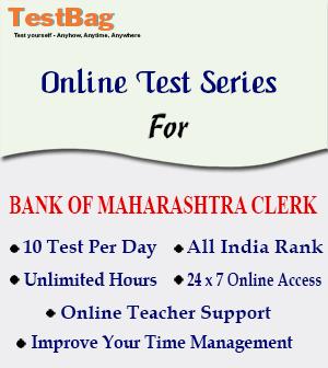 BANK OF MAHARASHTRA CLERK