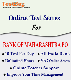 BANK OF MAHARASHTRA PO