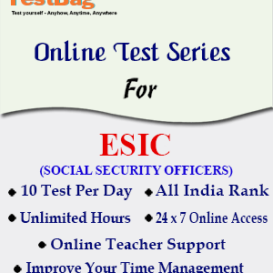 ESIC SOCIAL SECURITY OFFICERS