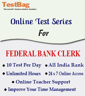 FEDERAL BANK CLERK