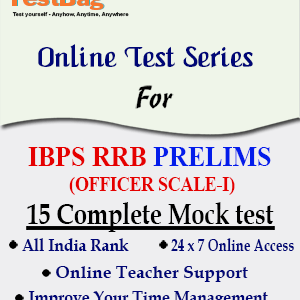 IBPS RRB OFFICERS SCALE I PRELIMS MOCK TEST