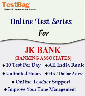 JK BANK BANKING ASSOCIATES