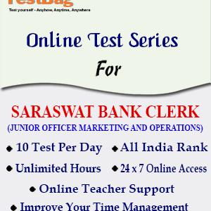 SARASWAT BANK CLERK