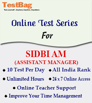 SIDBI ASSISTANT MANAGER GRADE A