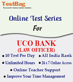 UCO BANK LAW OFFICERS
