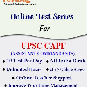 UPSC CAPF AC