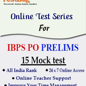 IBPS PO PRELIMS MOCK TEST