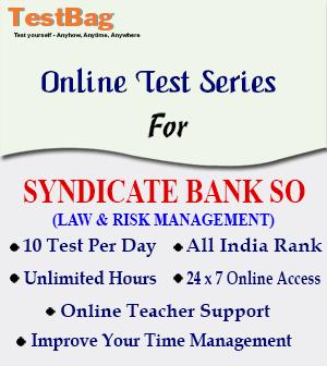 SYNDICATE BANK SO