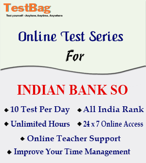 INDIAN BANK SO