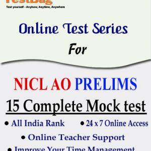 NICL AO PRELIMS MOCK TEST